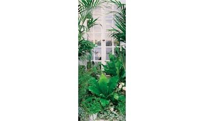 PAPERMOON Fototapete »Flower Window  -  Türtapete«, Vlies, 2 Bahnen, 90 x 200 cm kaufen