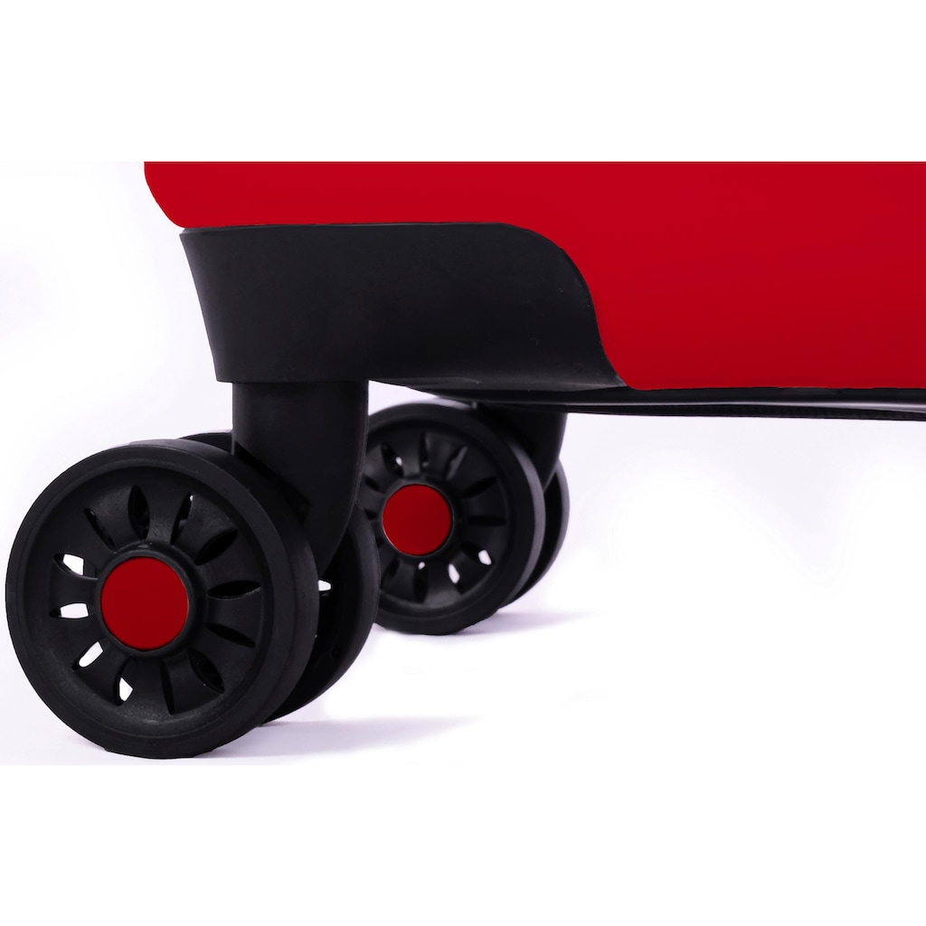 meinTrolley Hartschalen-Trolley »Musik DJ, 55 cm«, 4 Rollen, Made in Germany