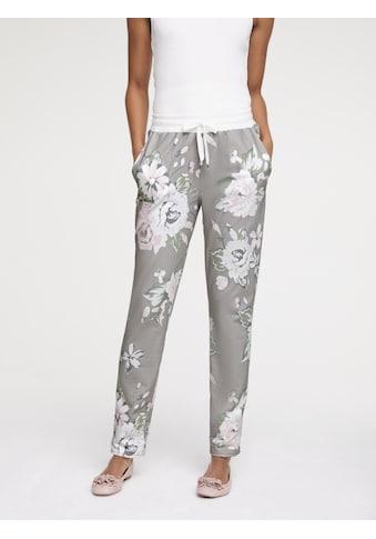 Jogginghose mit Blumendruck kaufen