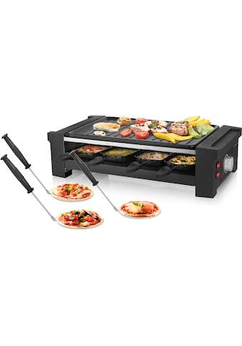 Emerio Raclette RG - 121295, 8 Raclettepfännchen, 1350 Watt kaufen