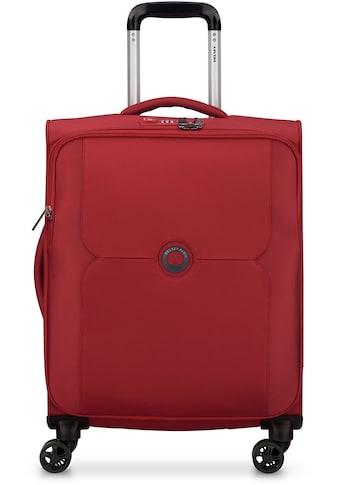 """Delsey Weichgepäck - Trolley """"Mercure Slim Line, 55 cm, red"""", 4 Rollen kaufen"""