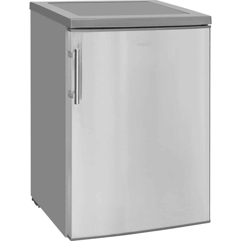 exquisit Table Top Kühlschrank »KS 18-17 RVA++ Inoxlook«