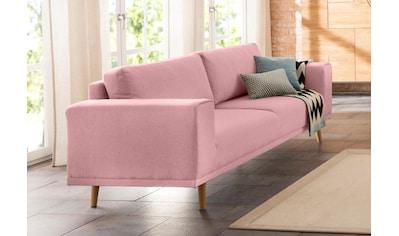 Home affaire 3-Sitzer »Lasse«, im scandinavischem Stil mit Holzfüßen kaufen