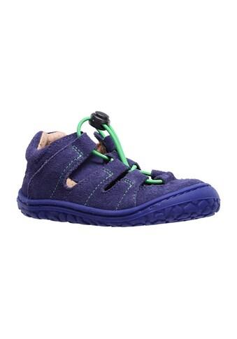 Lurchi Sandale »Barfußschuh Nathan Weitenmesssystem«, mit Schnellverschluss kaufen