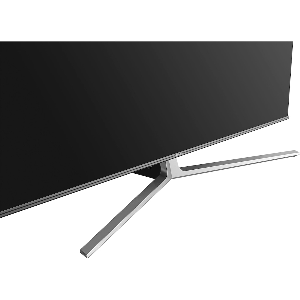 "Hisense QLED-Fernseher »55U8GQ«, 139 cm/55 "", 4K Ultra HD, Smart-TV, Quantum Dot ULED Technologie, 120Hz Panel, USB Recording"