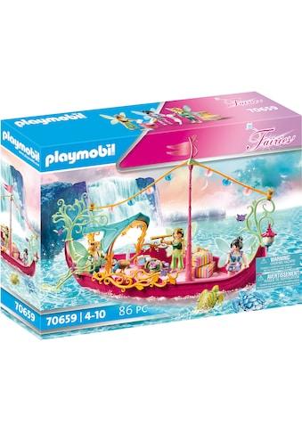 Playmobil® Konstruktions-Spielset »Romantisches Feenboot (70659), Fairies«, (86 St.),... kaufen