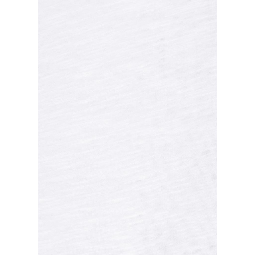 Aniston CASUAL Tanktop, mit Spitze am Saum