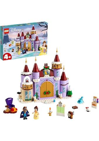 LEGO® Konstruktionsspielsteine »Belles winterliches Schloss (43180), LEGO® Disney... kaufen