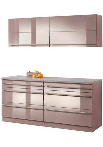 wiho Küchen Küchen - Set »Chicago«, ohne E - Geräte, Gesamtbreite 180 cm kaufen