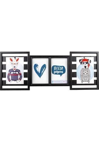 Walther Galerierahmen »Collage Mr Gorgeous«, für 4 Bilder kaufen