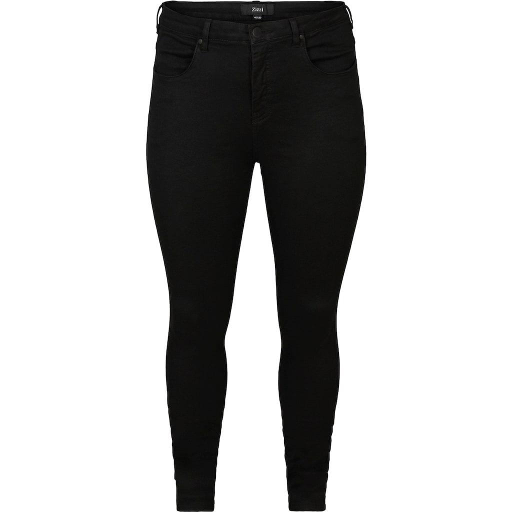 Zizzi Slim-fit-Jeans »Amy«, knöchellang