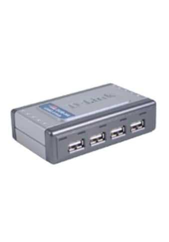 D - Link USB - Hub »DUB - H4 USB 2.0 4 - Port Hub, 4 x A - Port, 1 x B - Port« kaufen