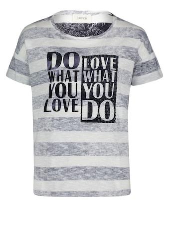 Cartoon Print-Shirt »mit Schmucksteinen« kaufen