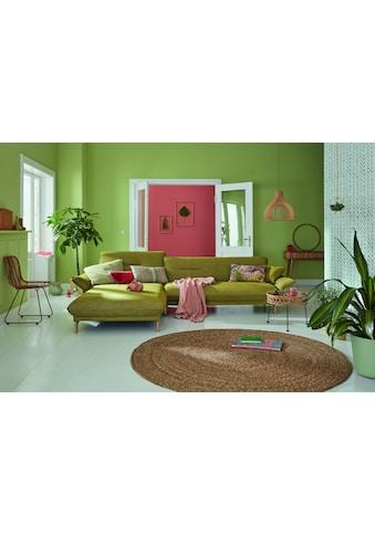 hülsta sofa Ecksofa »hs.430«, Recamiere hoher Rücken mit Neigefunktion, Breite 265 cm kaufen