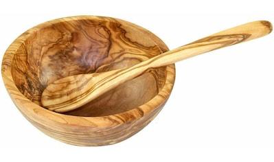 Olivenholz-erleben Müslischale, Olivenholz kaufen