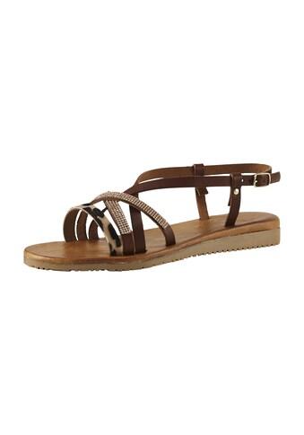 Sandalette im trendigem Farbmix kaufen