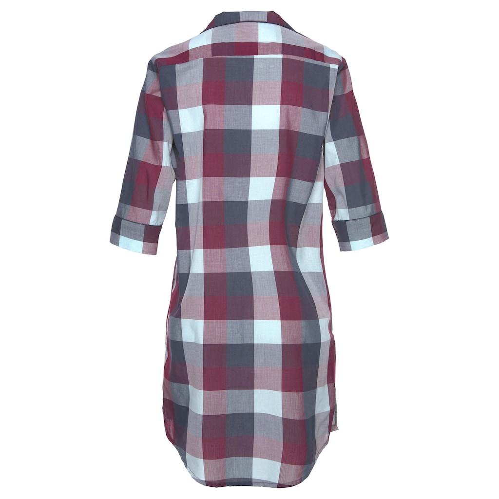 LASCANA Nachthemd, mit klassischem Reverskragen