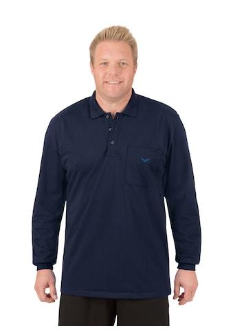 Trigema Langarm Poloshirt aus Baumwolle kaufen