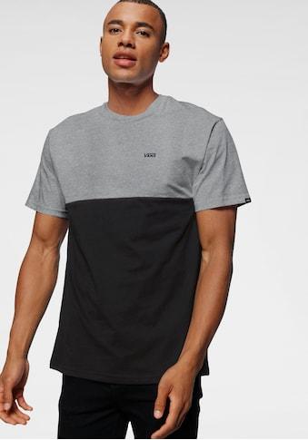 Vans T-Shirt »COLOR BLOCK« kaufen