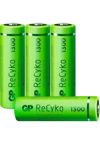 GP Batteries Akku »AA Akku GP NiMH 1300 mAh ReCyko 1,2V 4 Stück«, AA, 1300 mAh kaufen