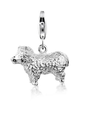 Nenalina Charm-Einhänger »Schaf Natur Tierfreund Lamm 925 Silber« kaufen