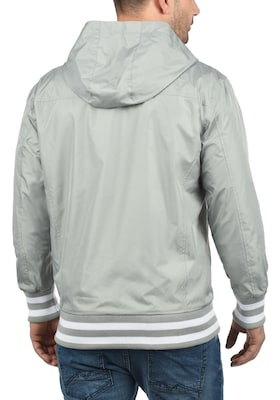 Herren Windbreaker in Hellgrau