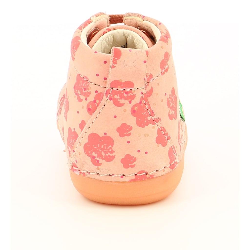 Kickers Lauflernschuh »Soniza«, mit Blütendruck