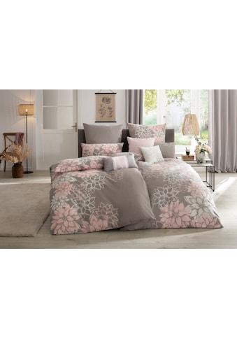 Home affaire Bettwäsche »Susan«, mit wunderschönen Blumen kaufen