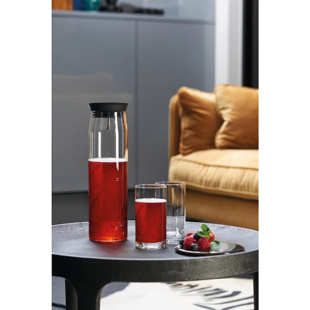 LEONARDO Gläser-Set »Brioso«, (Set, 3 tlg., 1 Karaffe, 2 Longdrinkbecher), 1 Karaffe, 2 Longdrinkgläser