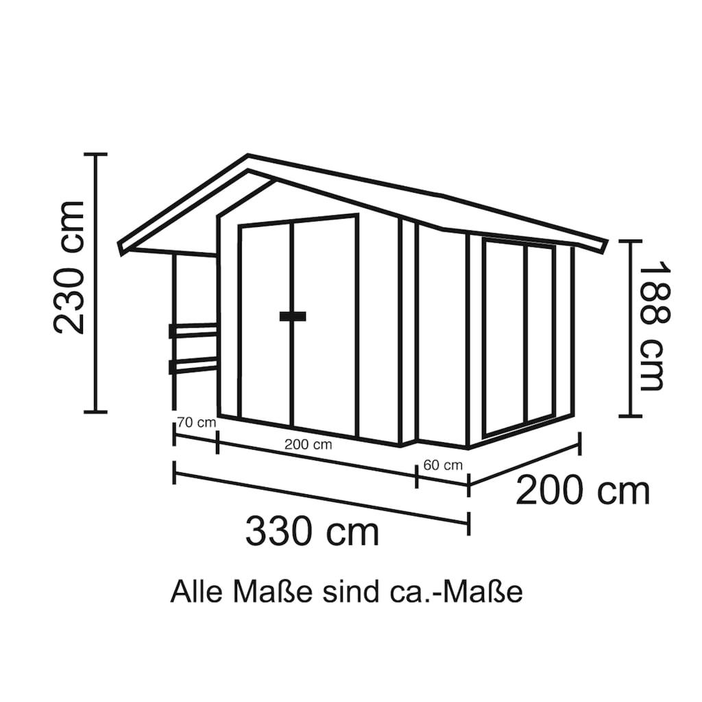 Nordic Holz Gartenhaus »Narva 475«