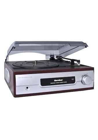 Karcher Schallplattenspieler »KA 8050« kaufen