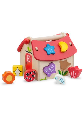 New Classic Toys® Steckspielzeug »Educational - Haus«, FSC®-Holz aus gewissenhaft... kaufen