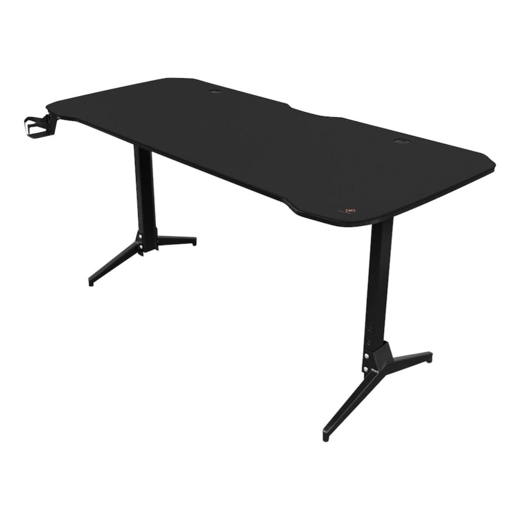DELTACO Computertisch »Gamingtable DT310«, Metallbeine, höhenverstellbar, inkl. Mauspad