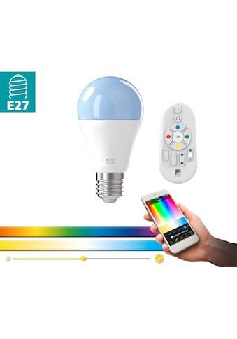 EGLO LED-Leuchtmittel »EGLO CONNECT«, E27, 1 St., Warmweiß-Neutralweiß-Farbwechsler-Tageslichtweiß, BLE, CCT, RGB kaufen