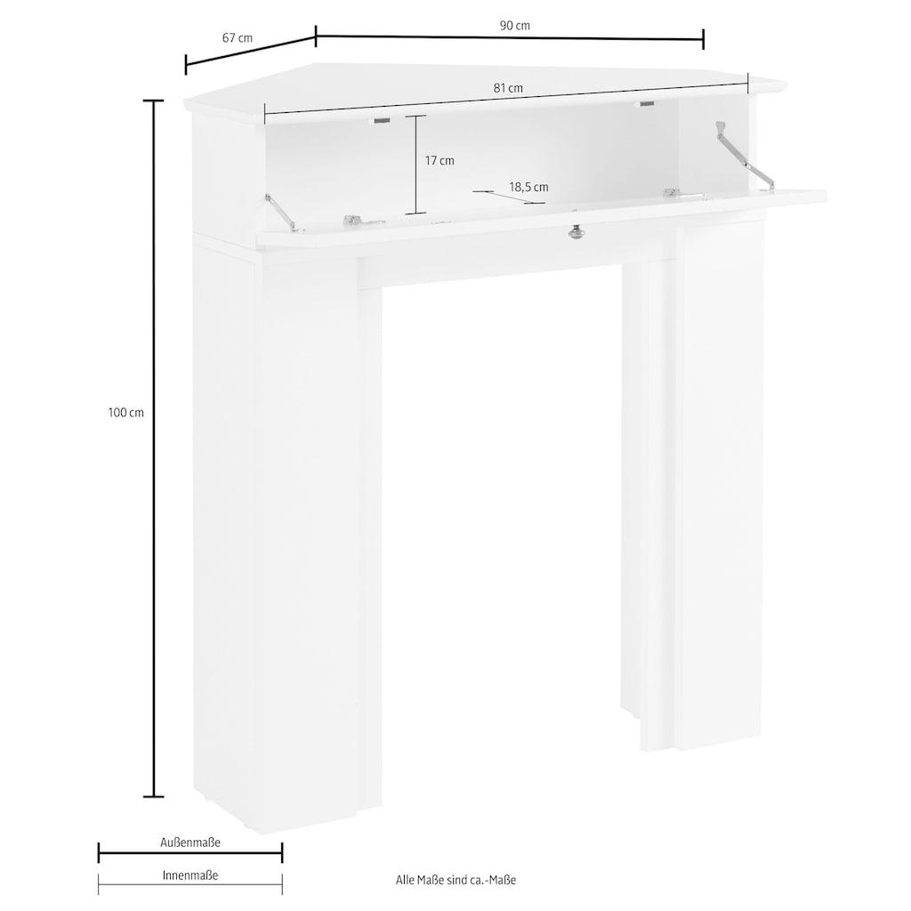 Home affaire Kaminumbauschrank »Harper«, Breite 90 cm