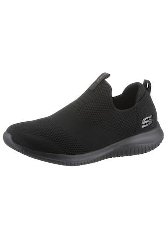 Skechers Slip-On Sneaker »Ultra Flex - First Take«, mit gepolsterter Ferse kaufen