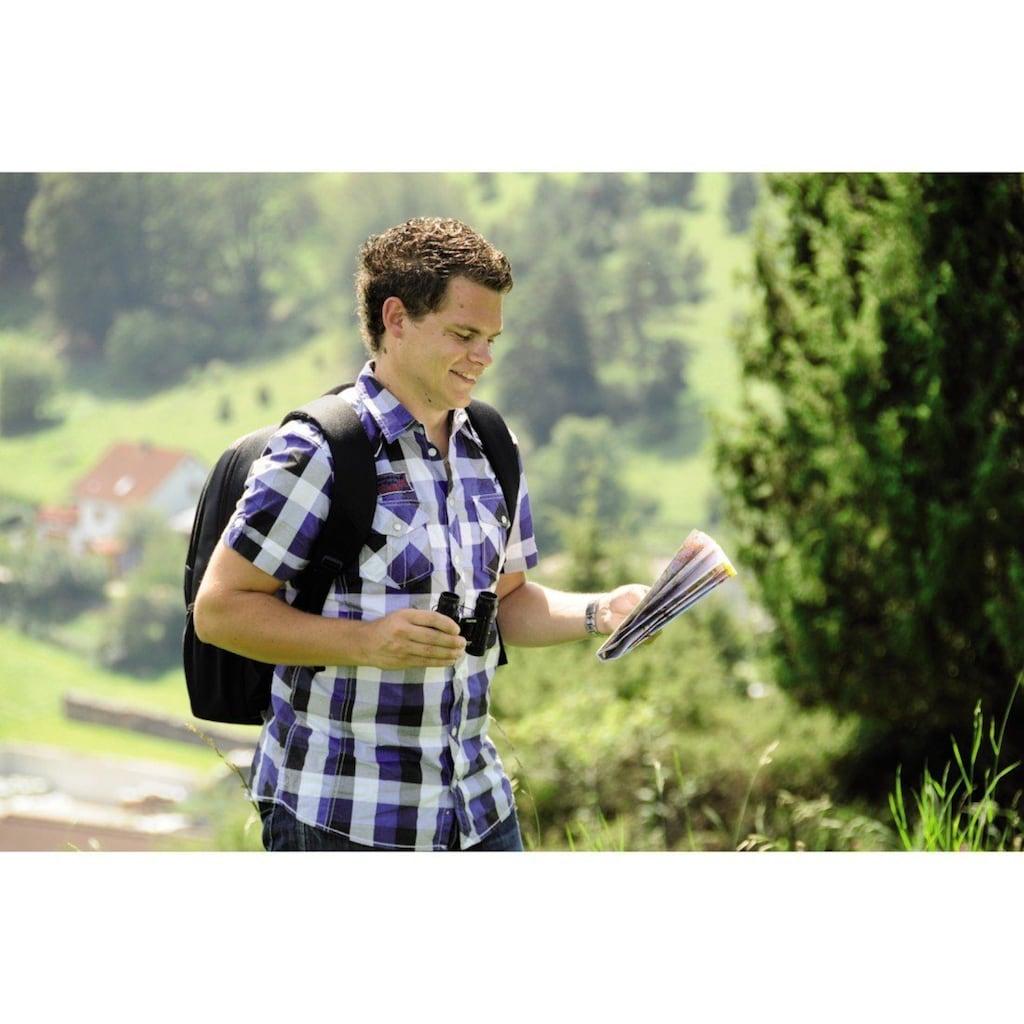 """Hama Kompaktes Fernglas für scharfe Weitsicht """"Optec"""", 12x2"""