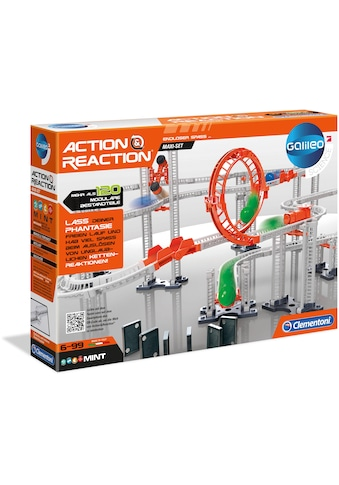 Clementoni® Kugelbahn-Bausatz »Galileo Action & Reaction Maxi Set«, Made in Europe kaufen