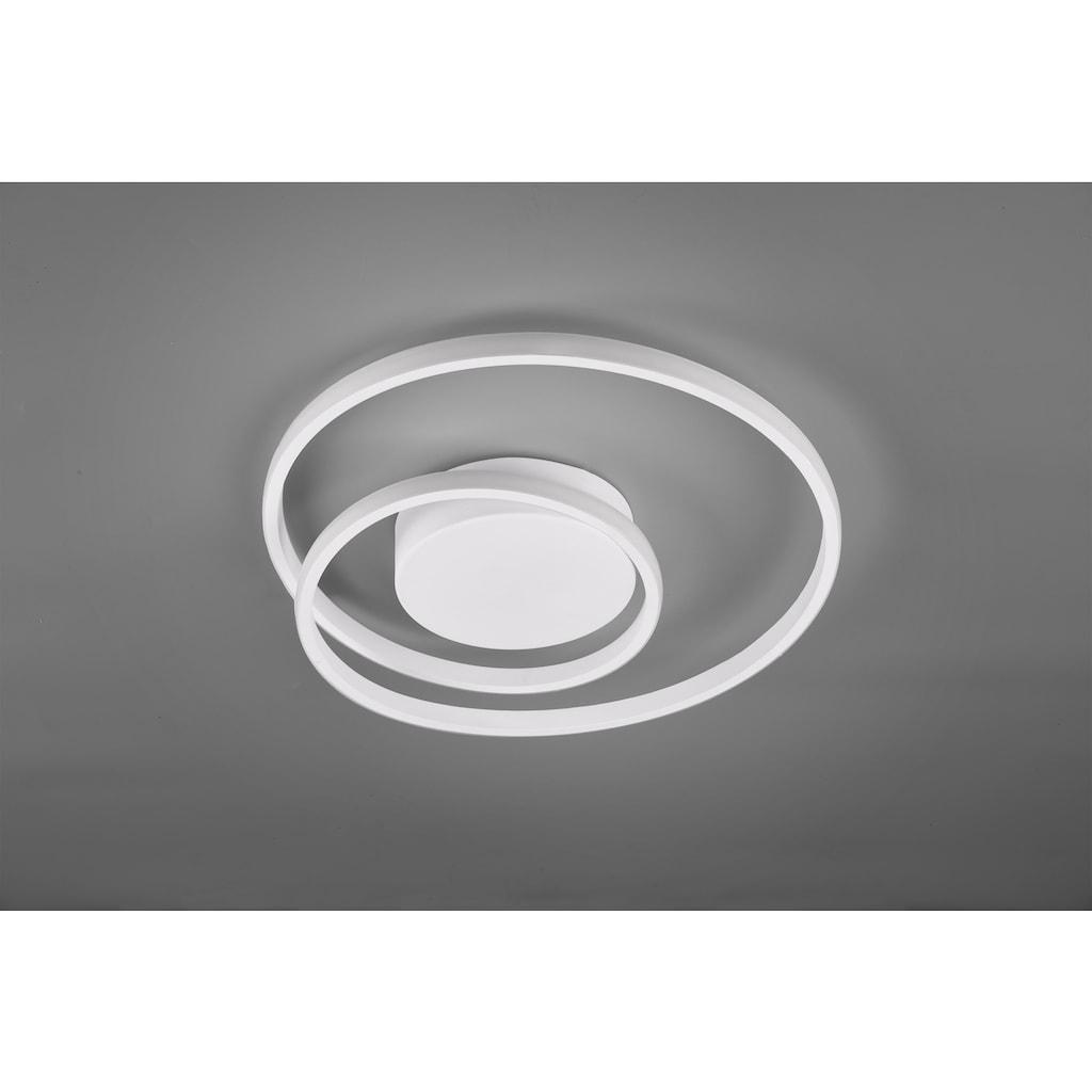 TRIO Leuchten LED Deckenleuchte »Zibal«, LED-Board, 1 St., Warmweiß, mit Switch Dimmer