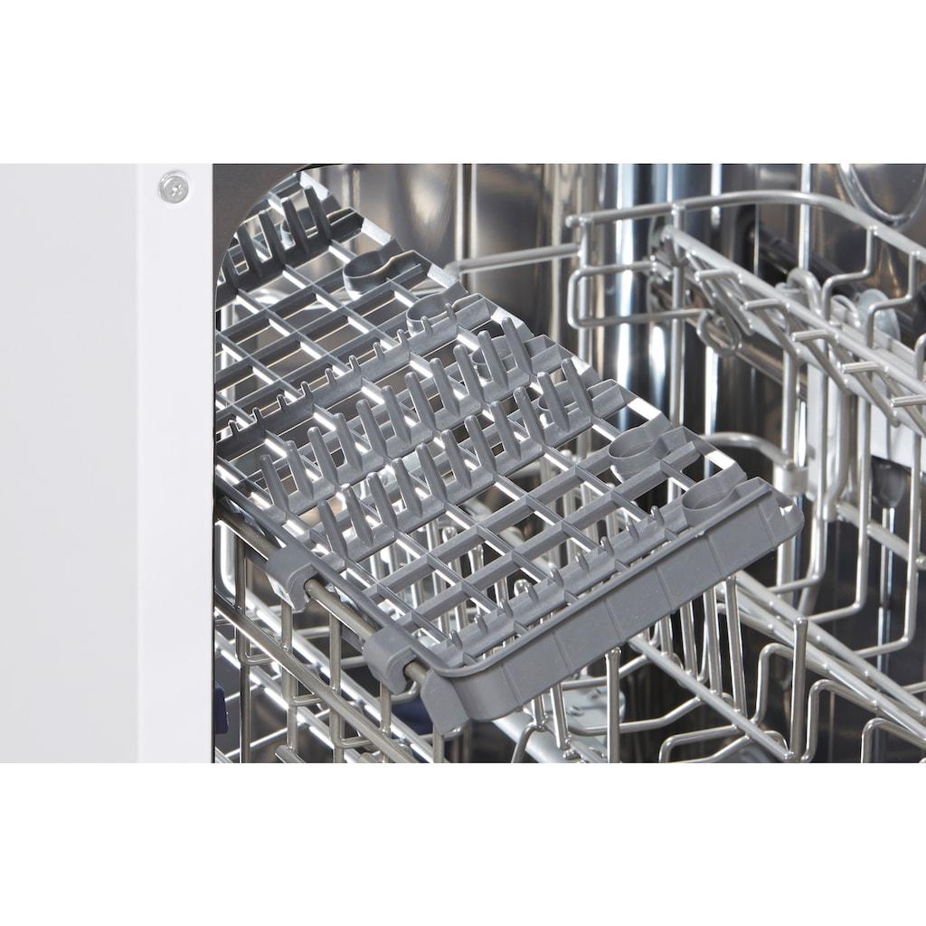 Hanseatic teilintegrierbarer Geschirrspüler »HGTI4582C10J7710DS«, HGTI4582C10J7710DS, 10 Maßgedecke