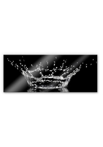 Wall-Art Küchenrückwand »Wassertropfen - Panorama Bild« kaufen