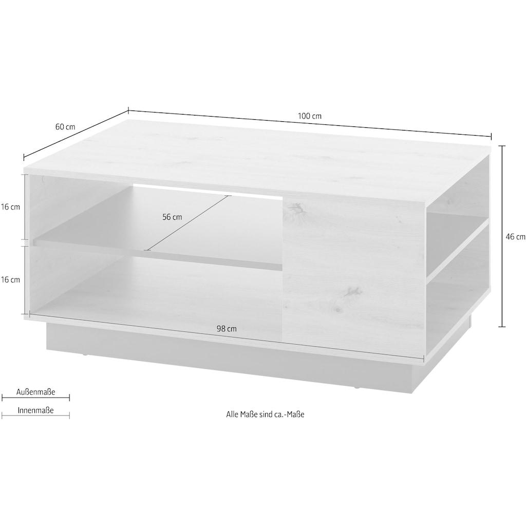 INOSIGN Couchtisch »CLAiR Couchtiscch 61«, Breite 100 cm