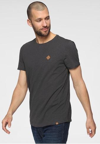 John Devin Rundhalsshirt, mit schmalem Bündchen am Halsausschnitt kaufen