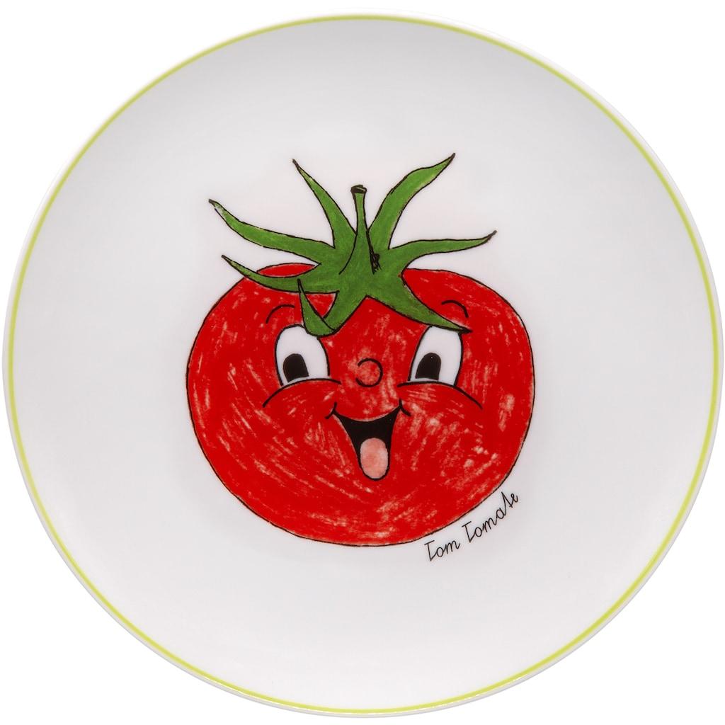 Eschenbach Kindergeschirr-Set »Gesunde Freunde Tomate«, (Set, 3 tlg.)