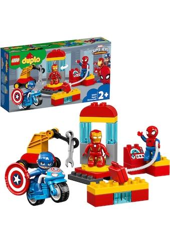 """LEGO® Konstruktionsspielsteine """"Iron Mans Labor - Treffpunkt (10921), LEGO® DUPLO® Marvel"""", (30 - tlg.) kaufen"""