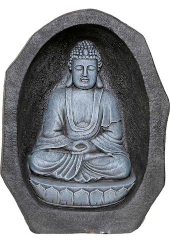 Casa Collection by Jänig Buddhafigur, Buddha im Felsen, Höhe: 58 cm kaufen