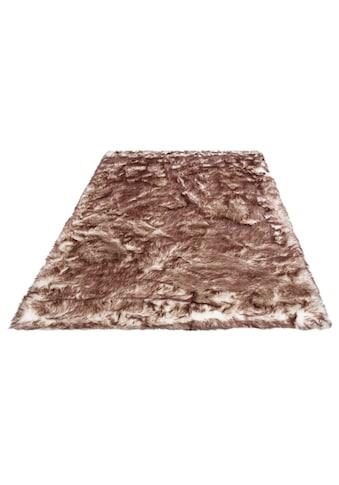 my home Fellteppich »Sammo«, rechteckig, 60 mm Höhe, Kunstfell, sehr weicher Flor,... kaufen