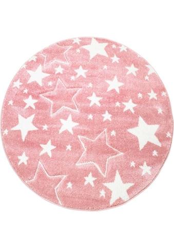 Kinderteppich, »Bueno Kids 1325«, Carpet City, rund, Höhe 13 mm, maschinell gewebt kaufen