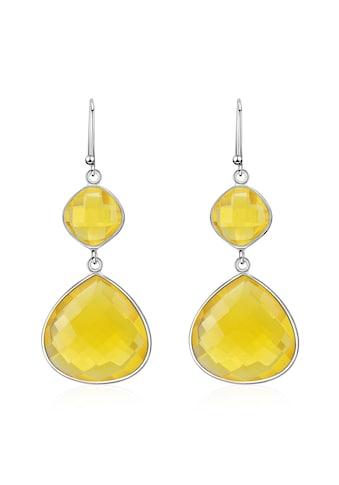 AILORIA Paar Ohrhänger »PENSÉE Ohrringe«, mit Lemon Quarz kaufen