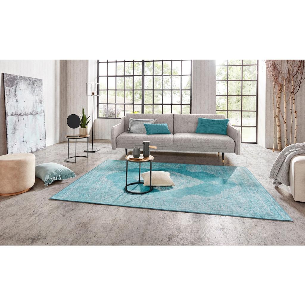 NOURISTAN Teppich »Carme«, rechteckig, 5 mm Höhe, Vintage Design, Orient-Optik, Wohnzimmer